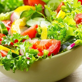 Vietnamese Lettuce and Fruit Salad