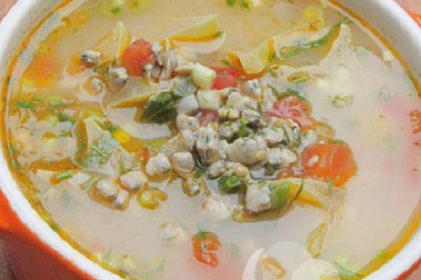 Baby Clam Soups - Canh Hen