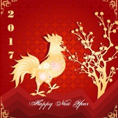 Year Of The Rooster - 2017, 2029, 2041