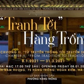 "From tradition to tradition second run, ""Hang Trong Tet painting"" exhibition in Hanoi"
